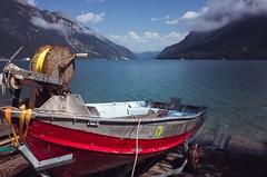 Red boat (stefan.bueti) Tags: 2016 achensee maurach tirol