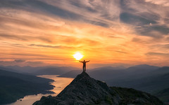 Rio ..... in the Trossachs (J McSporran) Tags: scotland trossachs benaan lochkatrine sunset