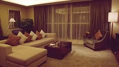 Club  Premier Suite Living Room - Sheraton Guangzhou (Matt@PEK) Tags: sheraton guangzhou spg starwood hotel