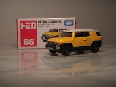 Toyota FJ Cruiser 1:66 Diecast by Tomica (PaulBusuego) Tags: toyota fj cruiser fjcruiser land landcruiser hino prado retro fj40 crossover suv sports utility vehicle 4wd four wheel drive 4x4 midsize truck hilux tacoma japanese american japan domestic market offroader offroad off road tomica tomy takara 164 scale model miniature replica collection 2011 metal diecast toy car made china vietnam