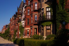 Back Bay - Commonwealth Avenue 3 (luco*) Tags: tatsunis damrique amrique usa united states america nouvelle angleterre new england massachusetts boston back bay commonwealth avenue maisons houses street rue