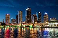 Tampa, Florida - 2016 - Casey J Porter (Casey J Porter) Tags: tampa florida downtown water river riverwalk sunset longexposure canon sigma photography photo caseyjporter ybor