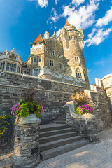 Walk Up (Viv Lynch) Tags: casaloma toronto attraction ontario tourism castle gothicrevival architecture gardens sunset davenport victorian gothic downtown canada summer 2016 mansion museum