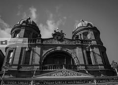 Buxton Opera House (athinaengland) Tags: buxton streetphotography dayout trip architecture building blackandwhite