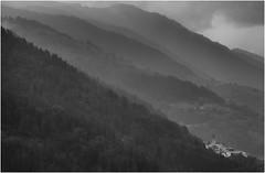 Val di Sole Village (Eric@focus) Tags: noiretblanc valdisole italia bw monochrome blackwhite blackwhitephotos neroamet