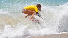 Amber Torrealba (cjbphotos1) Tags: thevic2016 aliso beach skimboarding finless waves spray action sports ocean lagunabeach california thevic2016skimboardingchampionship pro mens womens world