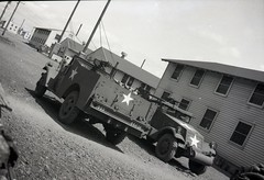 57th Infantry Brigade 029 (rich701) Tags: vintage old negatives ww2 military 1940s blackandwhite worldwartwo bw 44thinfantrydivision newjerseynationalguard 57thinfantrybrigade ng njng fortdix nationalguard newjersey nj njarng