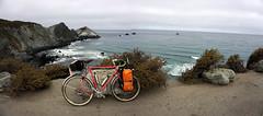 Rocky point (Franklyn W) Tags: biketour bikecamping bikeride touring touringbike california pacificcoasthighway hwy1 cahwy1 bigsur kirkcreek sansimeon cambria cayucos morobay morobaystatepark pacificocean twitter tumblr