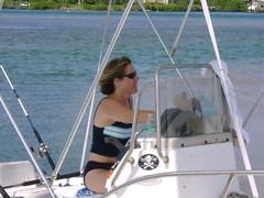 DSC01687 (TryKey) Tags: trykey 2008 hp sand bar boat natalie jolly roger fishing pole skull crossbones cross bones