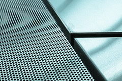 Lochblech (pyrolim) Tags: minimalismus loch linie metall platten minimalism hole lines