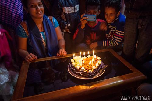 Urodzinowy tort Szymona
