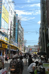osaka913 (tanayan) Tags: urban town cityscape osaka japan nihonbashi    nikon j1 road street alley