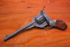 Peacemaker - Morisue Kei (P. Colman) Tags: origami paper peacemaker gun pistol sd1merrill