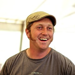 Geezer of the Day (Kyre Wood) Tags: show beer wednesday flat tent cap sideburns agricultural geezer barman tenbury ef50mmf14usm