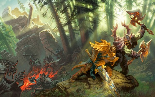 WORLD OF WARCRAFTS & DIABLO III ARTS by foeock, on Flickr