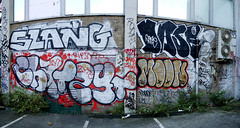 Slang/Chat/Zyte/Moon/Dase (delete08) Tags: street urban streetart london graffiti delete