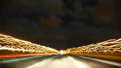 P1050554 (Fabio Pirovano) Tags: highway nightshot nightsky nightscene lx2 panasoniclumixlx2 starryskymode