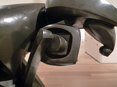 Duchamp-Villon, Horse with detail of piston