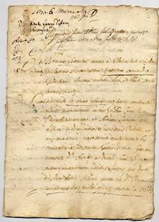 Istrumento dotale di Anna Luini, 1632