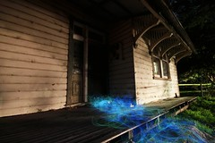 Water Board Cottage (therealpetesmith) Tags: lightpaint abcopen:project=nat2