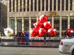 2011 NYC Street Views 02 (HangtownGal) Tags: christmas newyorkcity rockefellercenter macys radiocitymusichall rockettes wtcmemorial survivortree bloomingdale pjclarke giginotrattora