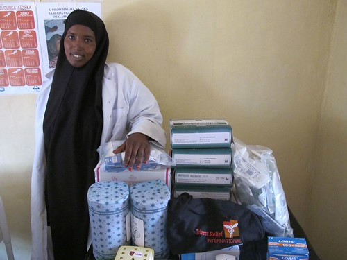 Sado with a Direct Relief Midwife Kit