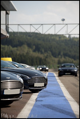 Some Aston... (Philippe Coupatez) Tags: auto blue car sport speed nose nikon track martin nez circuit luxe aston astonmartin d700 nikond700 coupatez coupatezphilippe