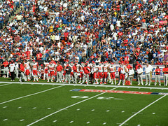 Chiefs Sideline (MattBritt00) Tags: ny newyork sports football buffalo stadium nfl kansascity chiefs afc americanfootball sideline orchardpark footballstadium kansascitychiefs ralphwilsonstadium nationalfootballleague americanfootballconference