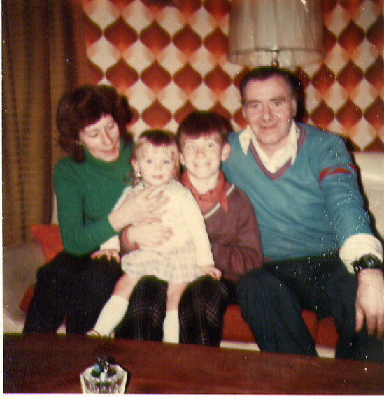 Mum and Dad Martin, Julie Beattie 1970's