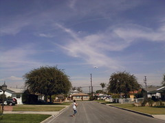 Photo761.jpg - shuttle flying over Downey to LAX