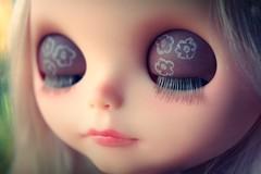 I love her eyelashes