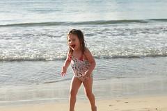Pure happy (KariAnn) Tags: beach kauai hanaleibay