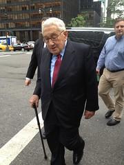 Henry Kissinger in Midtown. (Eugene Lagana) Tags: ocean park ne