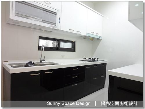 廚具大王林易延-作品編號172-雙一字型廚房-陽光空間精品廚具0226756761房-陽光空間廚衛設計10