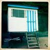 Striped Hut (Big*Al*Davies) Tags: bigaldavies iphone hipstamatic
