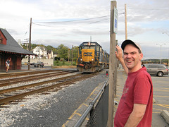 Andy and the Rock Runner (Photo Squirrel) Tags: andyfletcher gp402 darkfuture csxdarkfuture csx6424