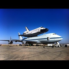 One more from #NASASocial - She's Beautiful. #Endeavour #OV105