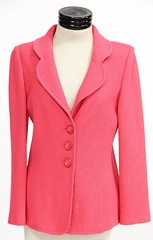 1018. Hot Pink Blazer Jacket, St. John