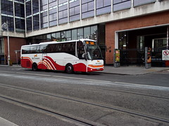 """Not a common sight"" (SP 61) Tags: dublin route4 busaras lc13 busireann"