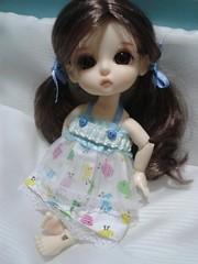 Boa Noite!^^ (cantinho da Nika) Tags: cute yellow belle bebe soninho fofura latidoll pintinhos lati pijaminha