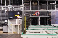 Jour 274 (Sebastien Morin) Tags: sign shop fence industrial montral storage system german storing projet robotic machinerie lenght project365 kasto alumico