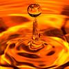 Splash - At the tip (^Lakshman^) Tags: orange water japan canon eos colours drop droplet splash liquid gifu 2012 lakshman 50d canonef100mmf28macrousm canoneos50d lakshmanphotography