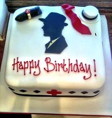 20's Style Birthday Cake
