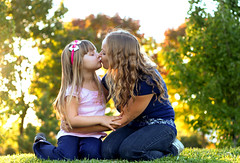 There is nothing better or stronger than the bond between Mother & Daughter!! (RyeRye <3) Tags: family portrait woman love nature girl beautiful children women hug kiss child natural candid daughter mother