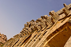 Hampi081 (Pappadi) Tags: india river temple nikon ruins capital ruin boulder boulders historical karnataka chariot pampa hampi vijayanagar chalukya hospet virupaksha zenana lotusmahal tungabhadra lakshminarasimha sisterstones virupakshatemple vittalatemple stonechariot elephantstables anegundi indoislamicarchitecture kishkinda krishnapura ugranarasimha d5100 hindukingdom balakrishnatemple d5100asia malpangudi vijavittalatemple sangamadynasty flickr:user=pappadi hhampi image:content=hampi image:subject=architecture image:location=hampi image:subject=indianarchitecture