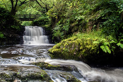 Dinas Rock Waterfall (parry101) Tags: south wales waterfall waterfalls brecon beacons national park pontneddfechan landscape water outdoor falls long exposure dinas rock afon mellte sychryd glyn neath