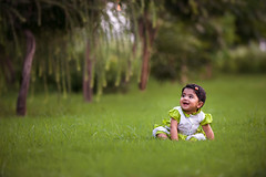 Aleena ! (GoCiP) Tags: nikon bokeh bokehlicious green daughter family happy happiness emotions memorable memories garden portrait portraiture photography photojournalism lahore pakistan gocip gocinematic gondal zeeshangondal