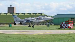 XZ103 EF Jaguar GR3A (Sonic Images) Tags: raf lossiemouth 6 squadron jaguar cold war jet xz103 ef gr3a