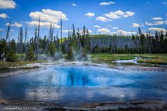 Black Sand Basin (Samantha Decker) Tags: canonef1740mmf4lusm canoneos6d nps samanthadecker wy wyoming ynp yellowstonenationalpark geyser