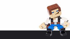 Han Solo (-derjoe-) Tags: derjoe der joe joachim klang lego classic space tips for kids cool projects your bricks tipps heel verlag distributor han solo dl44 block head version 2 star wars blaster smuggler